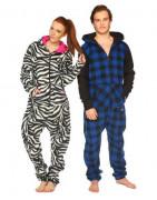 Pyjamas and sleeved blankets